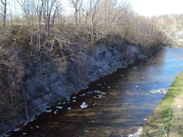 Buffalo Creek near East Aurora NY