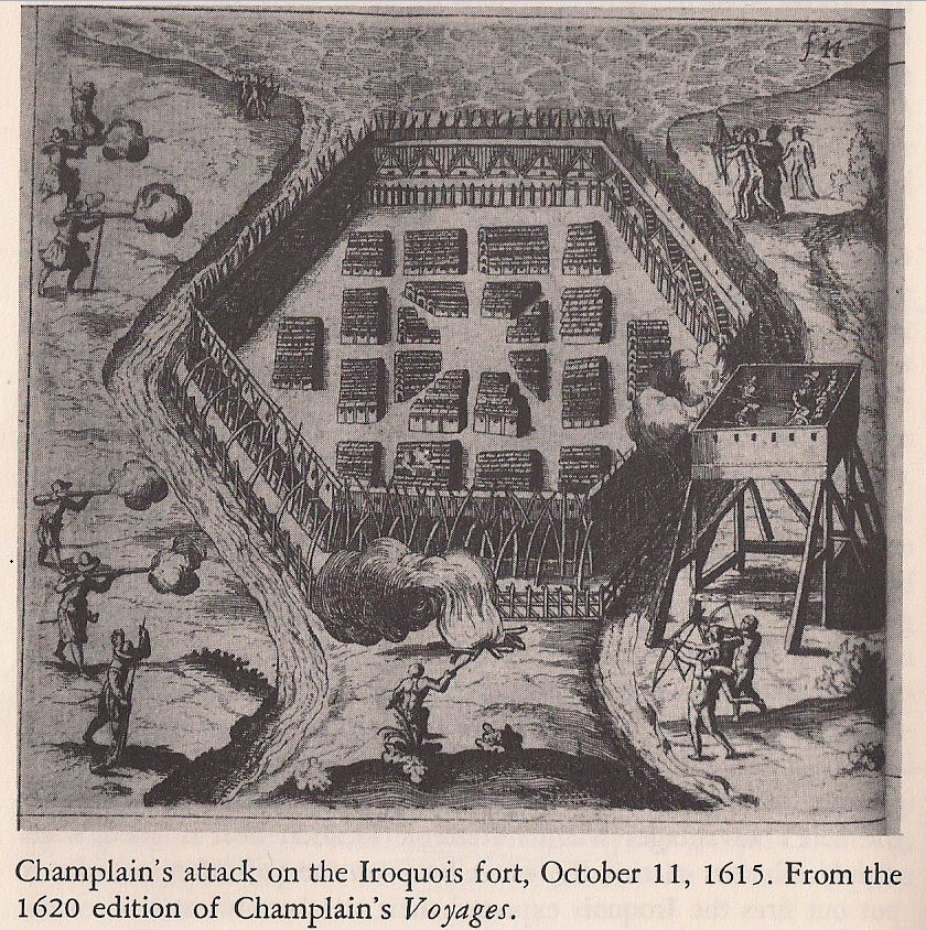 October Attack on an Iroquois Fort