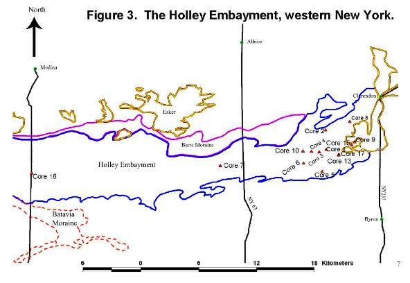 Holley Embayment and Batavia Moraine