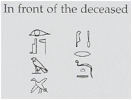 Label above the left hand of Maat