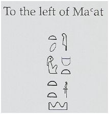 Label to the left of Maat