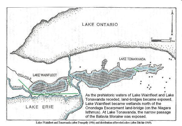 Lake Wainfleet and lake Tonawanda