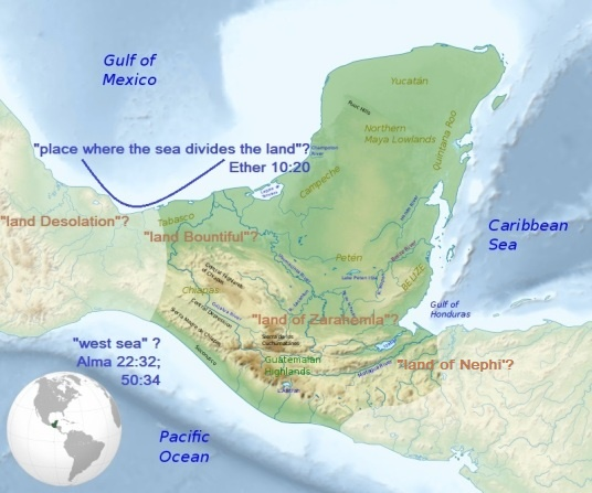 Misfit B of M Map - Mesoamerica